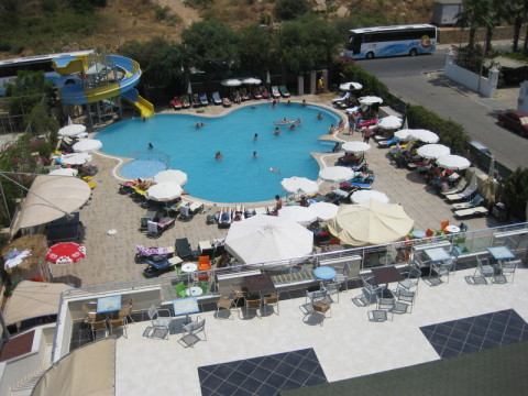 Urlaub Türkei im Jahr 2013 Wasser Badewannenthemeraturen alle Tage, Wetter heiß